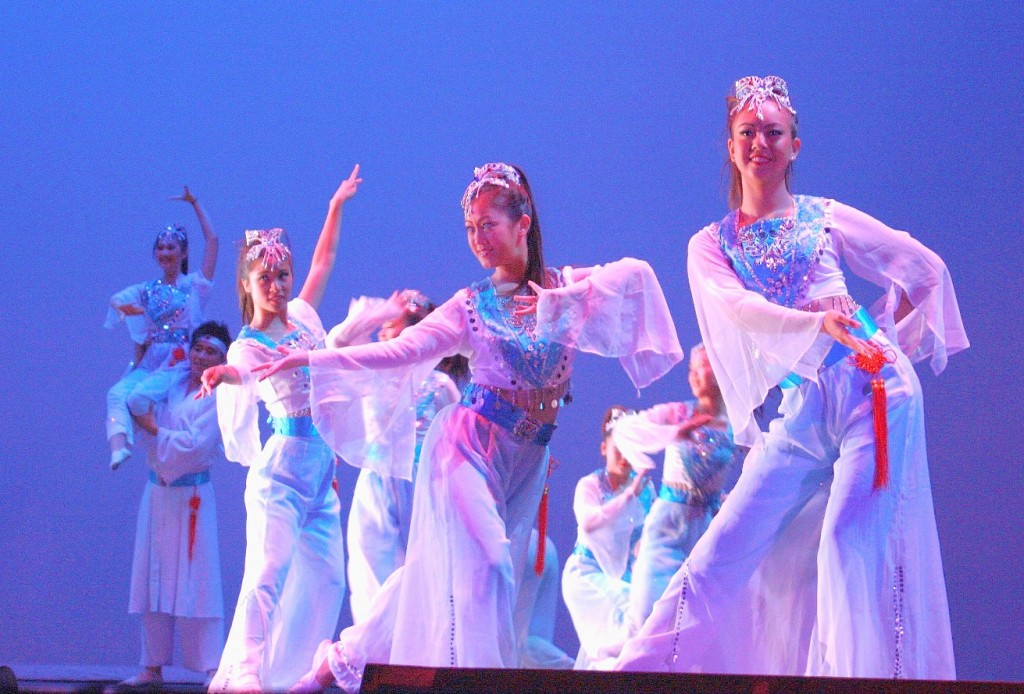 American Chinese Dance Association at the San Gabriel Mission Playhouse