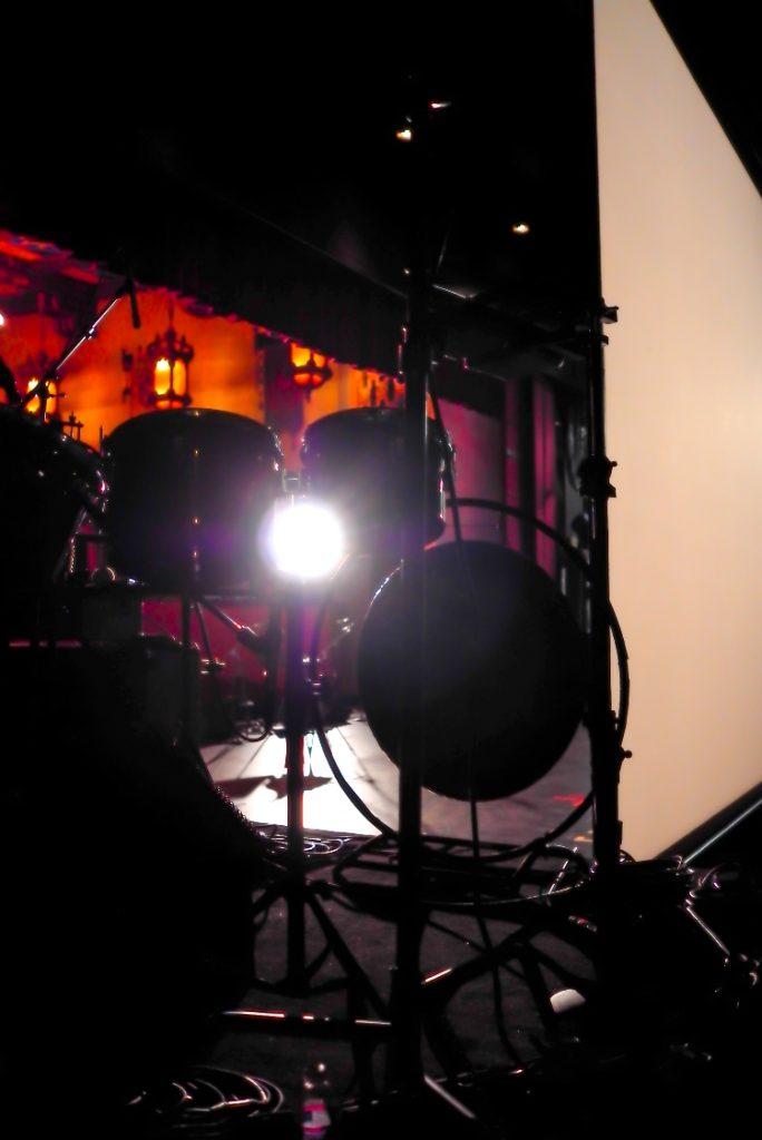 Filming at San Gabriel Mission Playhouse
