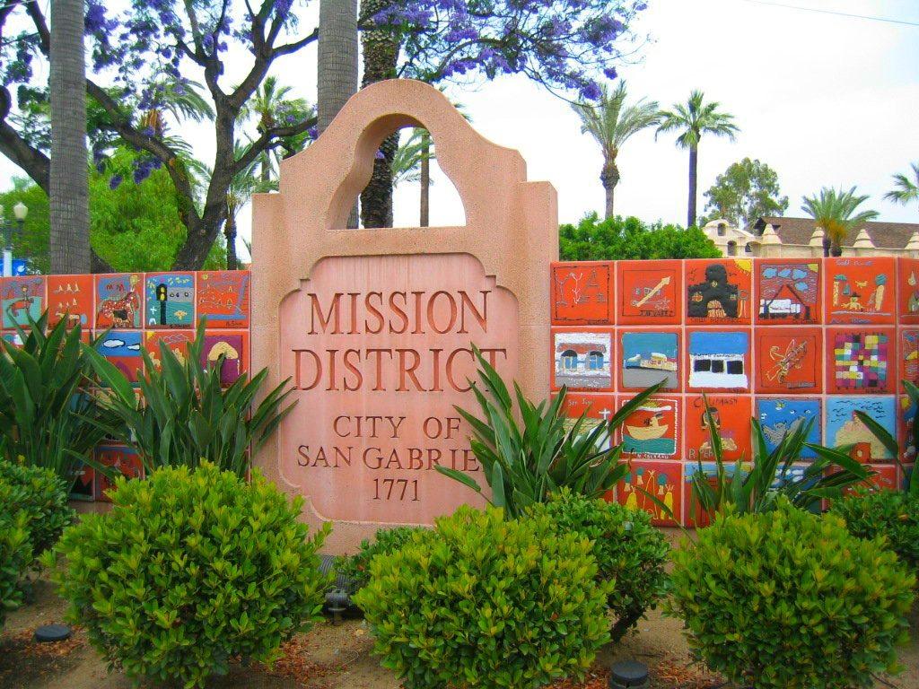 Mission District San Gabriel web