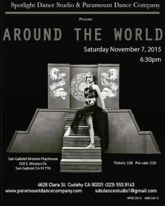 Paramount and Spotlight Dance Studio Around the World