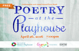 Poetry at the Playhouse