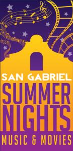 San Gabriel Summer Nights Logo 2015 San Gabriel Mission Playhouse