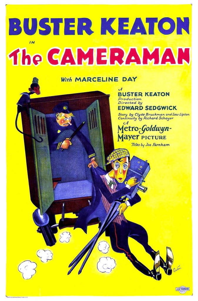 Silent Sundays The Cameraman 1928 San Gabriel Mission Playhouse