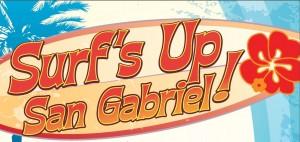 Surf's Up San Gabriel Logo