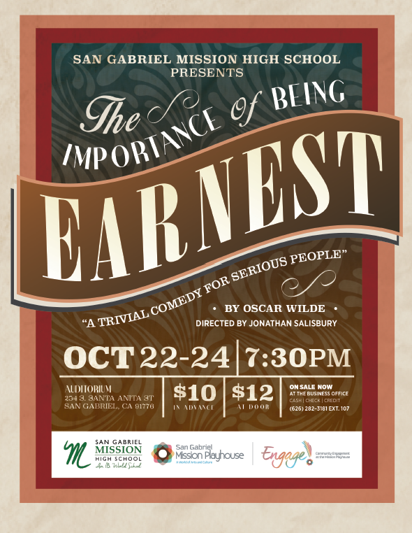 The-Importance-of-Being-Earnest-San Gabriel Mission Playhouse