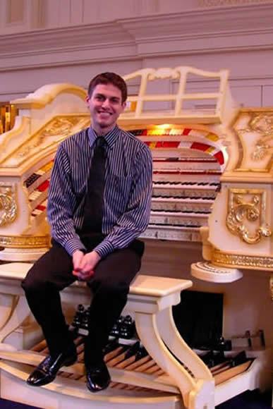 Los Angeles Theatre Organ Society Presents Mark Herman